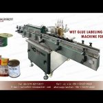 automatic glue labeling machine commissioning demo|cold glue labeler manufacturers