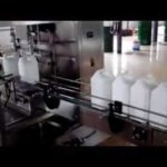 Net weight liquid filling and capping machine assembly line for barrel, jerry can, bucket
