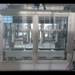 Edible oil 25 liter filling machine with weighing system 4 heads inline filler