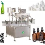 automatic inline capping machine for flat bottle screw capping machinery solutions