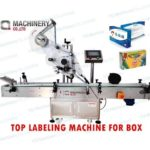 front and back labeling machine for small box|automatic sticker label applictor