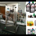 bottle cap screwing machine inline lid cover capping machine for engine oil bottles tightener