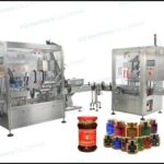 High Performance automatic piston filling and vacuum capping machine for syrup hot filler