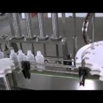 4 nozzles lotion filling and rolling cap machine with plunger type metering pump filler capper