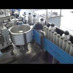 Wet paste labeling machine for metal bottles automatic glue label applicator price
