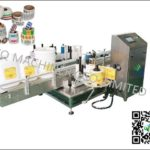 20L Pail labeling machine factory price adhesive High- precision positioning pail labeler