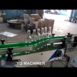 vinegar 6 heads gravity filling capping machine for soy fish sauce filler cap screwing equipment