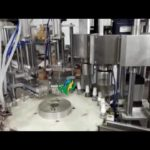 Automatic filling line 30ml spray bottle feeding filling stoppering screw capping labeling machine