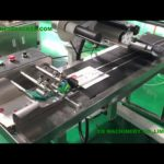 automatic top labeling machine with page seperating system plane self adhesive label applicator