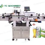 beer can labeling machine suppliers for Tsing Tao tin adhesive labeler with opaque labels