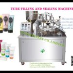 Cosmetic toothpaste ointment tube filler and sealer for sale soft tubes filling machine