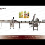 bottle pressing machine|square bottle feeding table lid sealing and collecting machinery