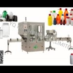 100 BPM high speed bottle capping machine pet plstic bottles rotary lid cover screwing equipment