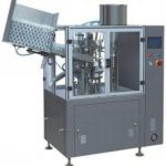 metal ointment tube filling and sealing machine high speed aluminum tubes filler system