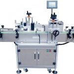automatic labeling machine with date coder adhesive label applicator factory vertical labeller