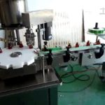 Automatic prodction line for oral liquid glass bottle feeding filling capping and labeling machines