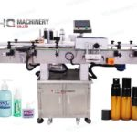 automatic small vial labeling machine manufacturers for spray bottle adhesive label applicator