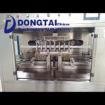 eight heads various oil filling packaging line,edible oil sunflower oil filling packaging line