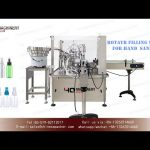 mist spray bottle filling and capping machine for hand sanitizer|monoblock filler and capper 2 in 1