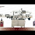 Good price double sided sticker labeling machines|YQ machinery school glue label applicator