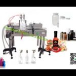 inline two heads piston filling machine with touch screen for Ghana factory volume laundry detergent
