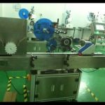 automatic plastic tube labeler in horizontal way self adhesive labeling machine for blood tubes