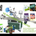 Flat pouches labeling machine with Paging numbering Counting system palstic bag labeler