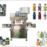 Automatic linear type screw capping machine for plastic bottle cap screwing system