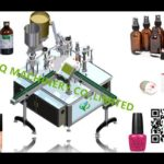 auto small container filling bottling line body glue piiston filler plugging screw tightening mach
