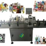 automatic vial labeling machine round container self adhesive labeller Machine d'étiquetage
