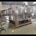 bottled water rinsing filling and capping production line Automatic 3 in 1 small bottle water filler