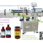 Jars Wrap Around Labeling Machine Video For Self Adhesive Label Applicator Best Supplier