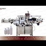 Automatic sticker labeling machine for Hand sanitizer bottle|label application machinery