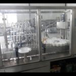 linear piston filling and rotary capping machine for liquid bottling system embotelladora líquido