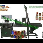 vacuum bottle capping machine for glass jar with metal cap capper system