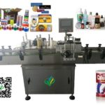 automatic adhesive sticker labeling machine for scott spray round plastic bottle labeller suppliers