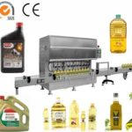 10 heads 5L plastic bottle filling machine for olive oil automatic inline edible oil filler system