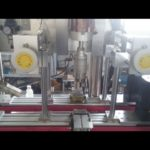 automatic inline cover capper machines round plastic bottles lid capping equipment price
