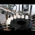 Automatic screw capping machine for round pet bottle grasping cover type capper equipment
