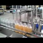 200ML bottle filling capping and labeling machine automatic 4 nozzles liquid filling line
