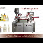 Automatic rotary filling machine for perfume|cream lotion liquid makeup filler and capper