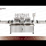 Gear pump filler for hand sanitizer gel|disinfectant bleach filling and capping machine