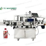 Wrap around labeler for glass bottle sticker adhesive two side labeling machines