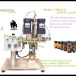 Semi automatic screw capping machine for essential oil chubby gorilla vial bottles closer