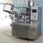 60pics/min automatic tube filling machine using PLC high speed facial cream filler and sealer