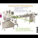 rotary glue oval bottle filling screw capping and two sides labeling machines for Russian client
