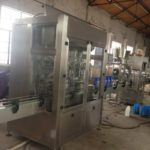 Automatic detergent bottle filling and capping system with 8 nozzles liquid filler and capper