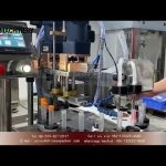 test tube filling and capping machine test demo small scale filler and lid tightener for test kit