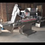 Automatic Linear Screw Capping Machine cap screwing machinery for honey bottles