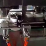 Chewing gum couting and filling machine